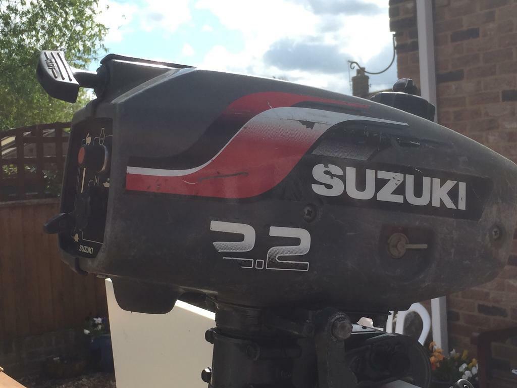 Suzuki 2 stroke outboard engine   in Downham Market, Norfolk   Gumtree