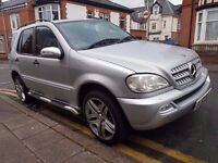 2003 MERCEDES BENZ ML270 CDI..AUTOMATIC..7 SEATER..LONG MOT..