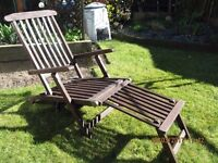 Steamer Garden Chair