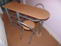 Breakfast Bar table and chairs