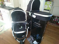 New iCandy Peach Jogger (All terrain) Stroller/Pushchair/Pram with Carrycot