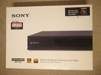 Sony UBP-X800 4K Blu-ray Player - Brand New Unopened REDUCED