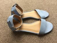 Brand New M&S Leather Summer Shoes. Size U.K. 4