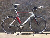 Cannondale Slice Triathlon/TT XLBike 60cm Shimano 105 Vision Zipp Profile Design
