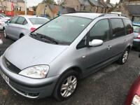 AUTOMATIC 7 SEATER LOW MILEAGE FORD GALAXY GHIA 3 MONTHS WARRANTY