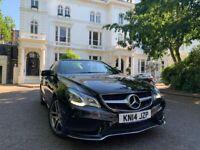 Mercedes-Benz, E CLASS, Convertible, 2014, Semi-Auto, 2143 (cc), 2 doors