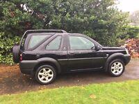 Land Rover Freelander ES 1.8 petrol3dr Black 89000 miles Manual
