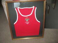 Framed ABA Young England Vest