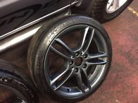 "BMW Msport 18"" Alloys Newly Refurbed With Part Worn Tyres"
