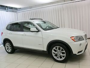 2014 BMW X3 28i x-DRIVE AWD w/ HEATED LEATHER, PANO ROOF & BAC