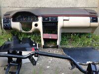 LEFT HAND DRIVE DASHBOARD MERCEDS E CLASS 1997
