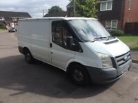2007 57 ford transit 85 t260 spares or repairs