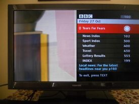 "Toshiba 32"" LED freeview tv"