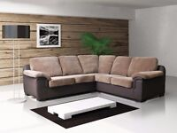 BRAND NEW AMY CORNER SOFA**AVAILABLE IN FABRIC & LEATHER**3+2 SETS **ARM CHAIRS**FOOT STOOLS