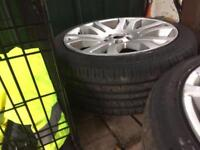 18' Alloys to fit range, Volvo, transit connect, fords