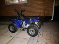 Kazuma 110cc semi auto quad