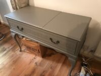 Dwell Side Table / Cabinet / Sideboard. With 2 storage areas and ornate detail.