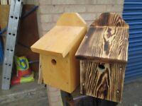 bird box nesting box for sale blue tit or robin box new unused