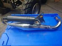 Stage 6 exhaust for Aerox
