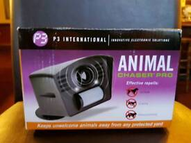 ULTRASONIC ANIMAL CHASER REPELLER DOGS CATS RACCOONS