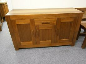 Beautiful solid cuba sideboard, ***new*** ex-display in excellent condition