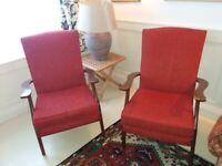 Parker Knoll vintage / retro armchairs PK732. £20 each.