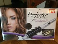 Perfecter Fusion Styler and Babyliss thermo-ceramic heated rollers