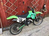 Kdx 250 motorcross