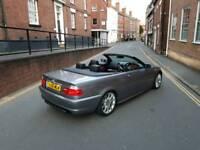 BMW 320cd msport convertible 55 plate px corsa vxr