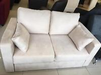 Brand New Designer 2 Seater Fabric Sofa bed
