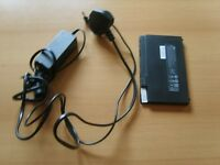 HP Compact notebook charger and battery