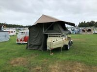 Venter Savuti - trailer tent with roof tent and integrated annex