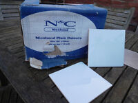 9 boxes of pale blue tiles - kitchen or bathroom