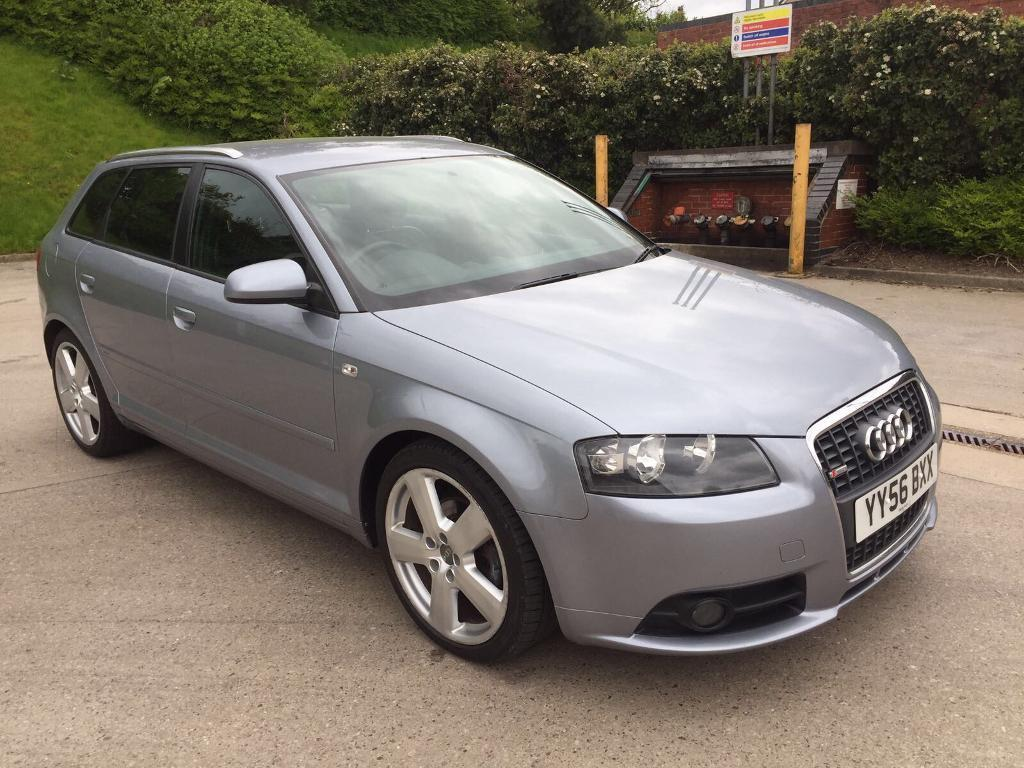 audi a3 s line tdi sportback 2 0 diesel 5 door hatchback 2006 year in bradford west. Black Bedroom Furniture Sets. Home Design Ideas