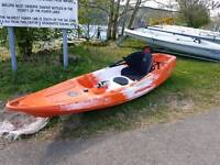 Feel Free Nomad Sit-on Kayak + soft roof rack and loads of extras - paddle/seat & more
