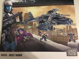 Mega Bloks Halo ODST Hawk 96850 all pieces