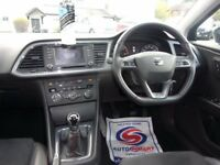 SEAT LEON 2.0 TDI CR FR (Tech Pack) 5dr (start/stop) (black) 2013
