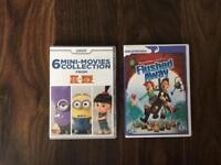 Minion movies & flushed away