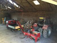 Small family business with an ability to deliver dry hardwood logs, coal, briquettes and Anthracite
