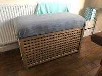 Ikea storage box/toy box/ottoman