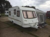 Elddis Invicta 475 5 Berth Caravan