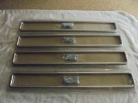 4 X PACKS B & Q Wire D Handles 450mm Brushed Nickel Finish