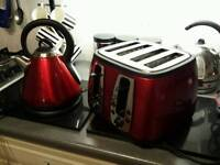 Russell Hobbs kettle and toaster..