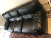 Leather Sofa 3 Seater very Comfortable and In Good Condition