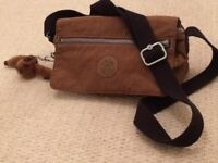 Kipling shoulder cross body bag complete with own monkey, excellent condition