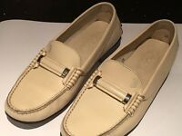 Tods women's leather driving moccasins loafers
