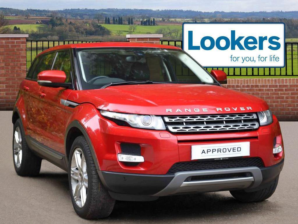 Land Rover Range Rover Evoque SD4 PURE TECH (red) 2012-07-13
