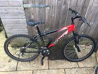 Giant Rock Mountain Bike. Good condition. Fully Serviced, Free D-Lock, Lights, Delivery.