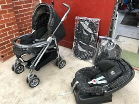 Mamas and Papas Pramette travel system
