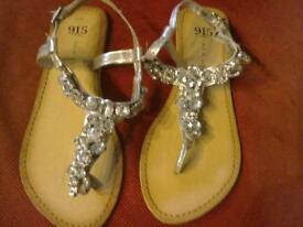Pretty sandals from New Look size 4
